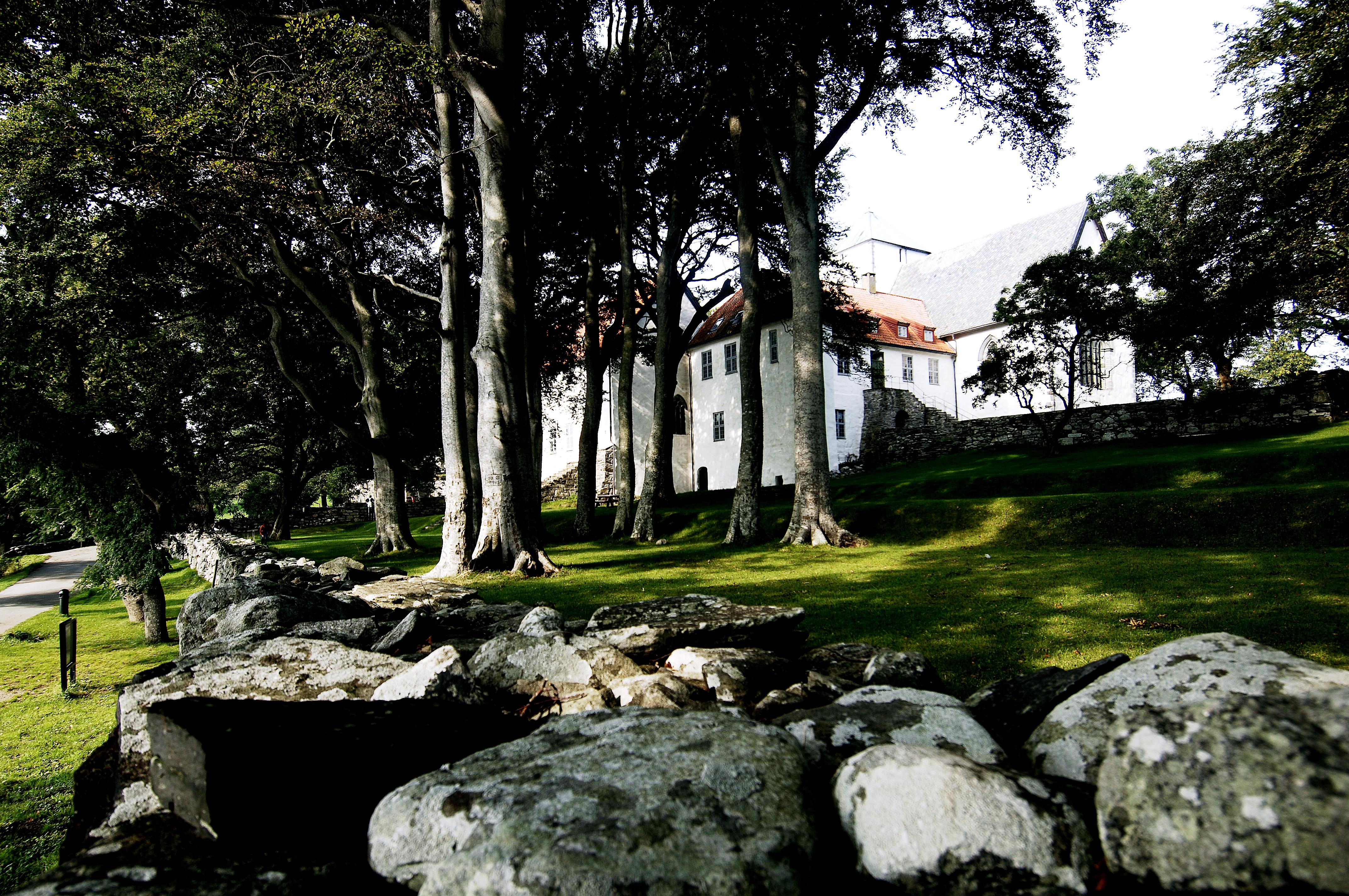 Utstein Kloster på Klosterøy like ved Klostergarden. Fotograf: Anne Lise Norheim